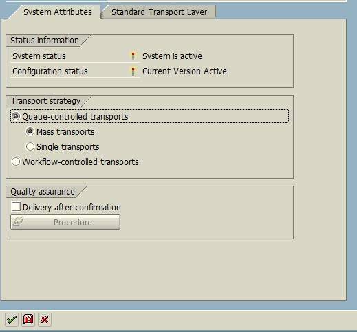 Leave Transport Request in Queue for Later Import