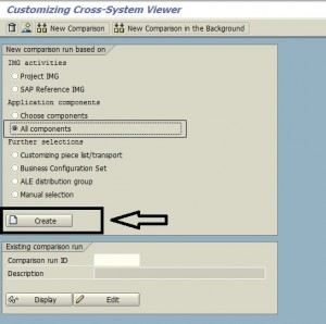 Compare Two SAP System or Client 01