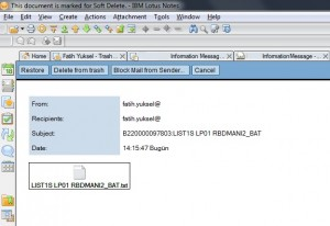 Send SAP Spool Output via E-Mail 05