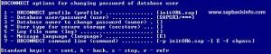 Change SAPSR3 Password via BRTOOLS