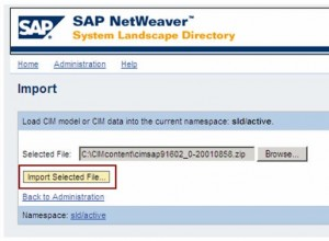 Update SAP SLD Content