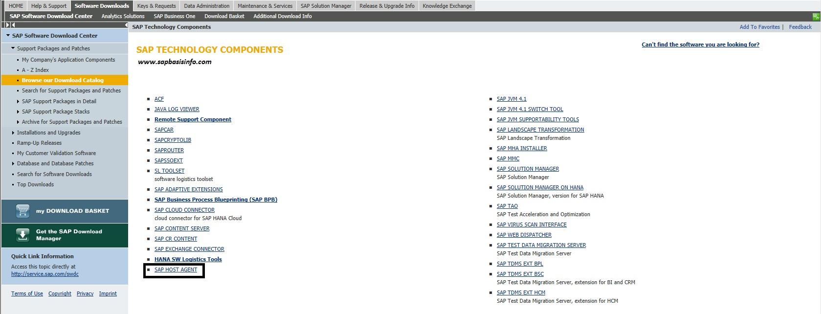 Install SAP Host Agent