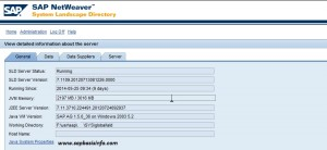 Find SAP SLD CR Content and Model Version