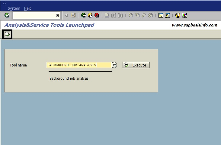 ST13 Analysis and Service Tools Launchpad