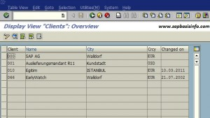 SAP Client Dependent and Independent