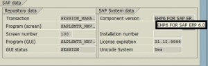 Find Your SAP System's EHP Level Easily