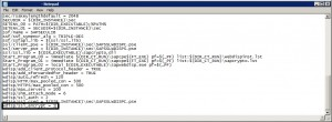 SAP Web Dispatcher SSL Parameter : wdisp/ssl_encrypt = 1 or 0
