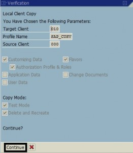 Find Size of the SAP Client