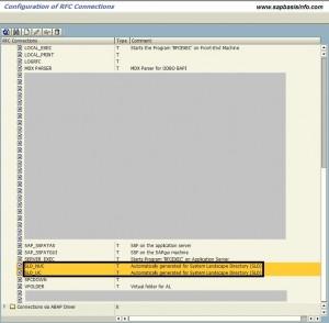 RZ70 RFC Call Failed : Error when opening an RFC connection