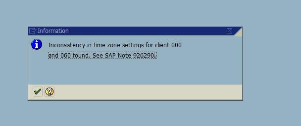 Inconsistency in Timezone Settings for Client 000