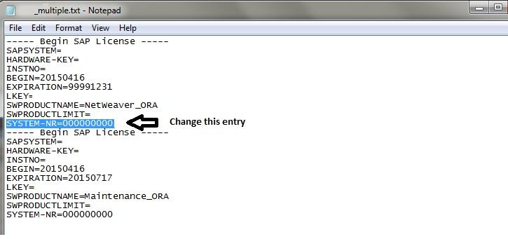 Error When Installing Permanent License Key