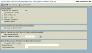 Validity of certificate from list with PSE type >SSL server Standard< ends in X days