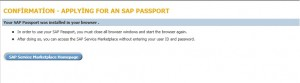 Single Sign-On with SAP Passport for Support SAP Site
