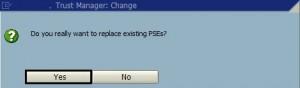 Error in tcode OAC0 : SSF error : invalid signer