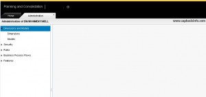 SAP BPC Web Page Shows Blank Screen After Upgrade
