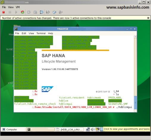HANA Installation on SUSE Linux | SAPBASISINFO