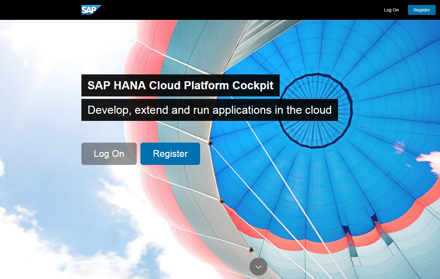 HANA Cloud Platform for Trial