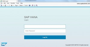 SAP HANA Cockpit