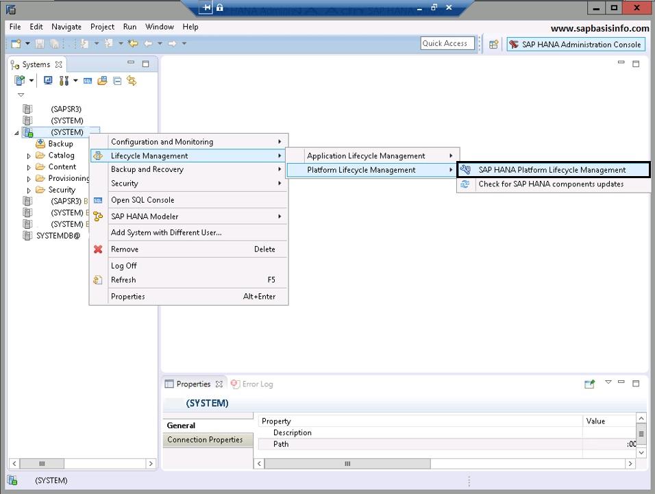 HANA Database Upgrade from 1.0 to 2.0
