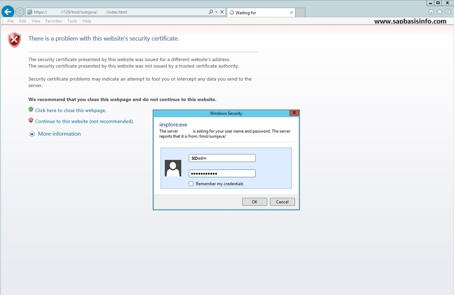 SAP Landscape Management 3 0 (SAP LAMA) Installation | SAPBASISINFO
