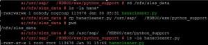 HANA Cleaner Python Script - hanacleaner.py