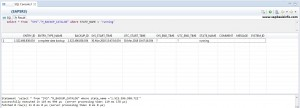 HANA Backup and Recovery SQL Queries