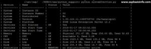 Useful Python Scripts for HANA
