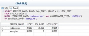 Check Memory Usage and DB Size on HANA via SQL