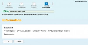 HANA Application Server Uninstall