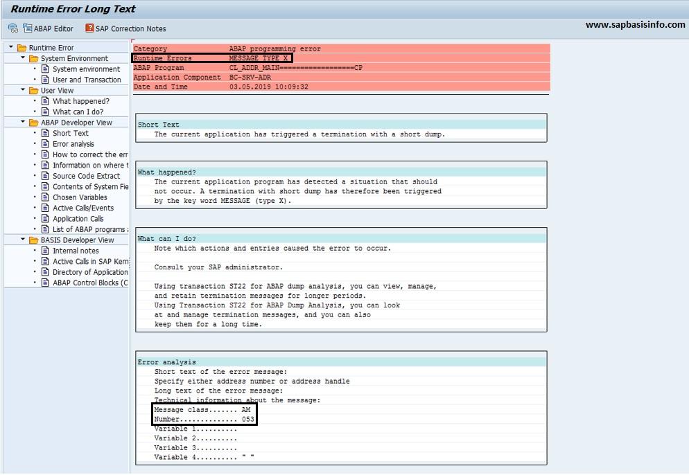 SAP Basis Info