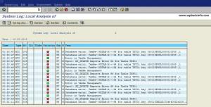 Database error: TemSe->XRTAB(4)->64 for table TST01